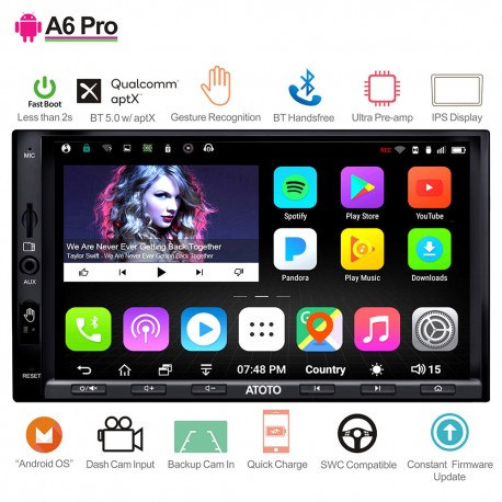 Atoto A6 2Din Android Reproductor 7Pulg