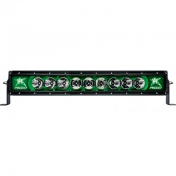 Rigid Barra Led Radiance 20Pulg Verde