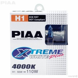 Piaa H1 55w110w Xtreme White Plus Bulbs 4000k