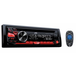 JVC KD-R480 Reproductor con CD, Player, AuX, MP3, USB