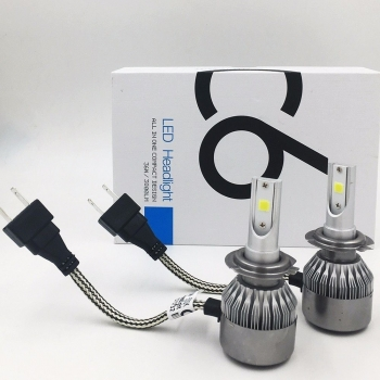 C6 Kit Luces H4 LED Alta/Baja (PAR) Bombillos Bombillo