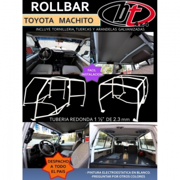BT4X4 RollBar Toyota Machito