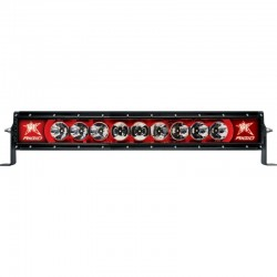 Rigid Barra Led Radiance 20Pulg Roja