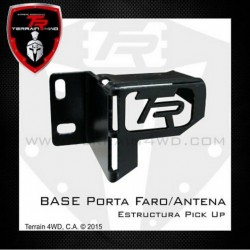 Terrain4WD Base Faro Retroceso (Estructura Pick Up)
