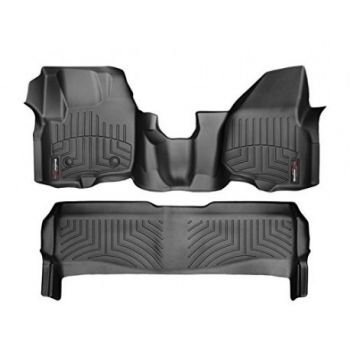 WeatherTech Alfombras Ford Superduty f250 4 Puertas (Negro)