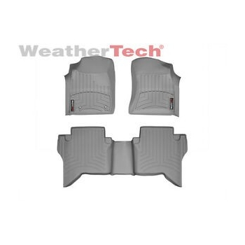 WeatherTech Alfombras Toyota Hilux 2005-2011 (Gris)
