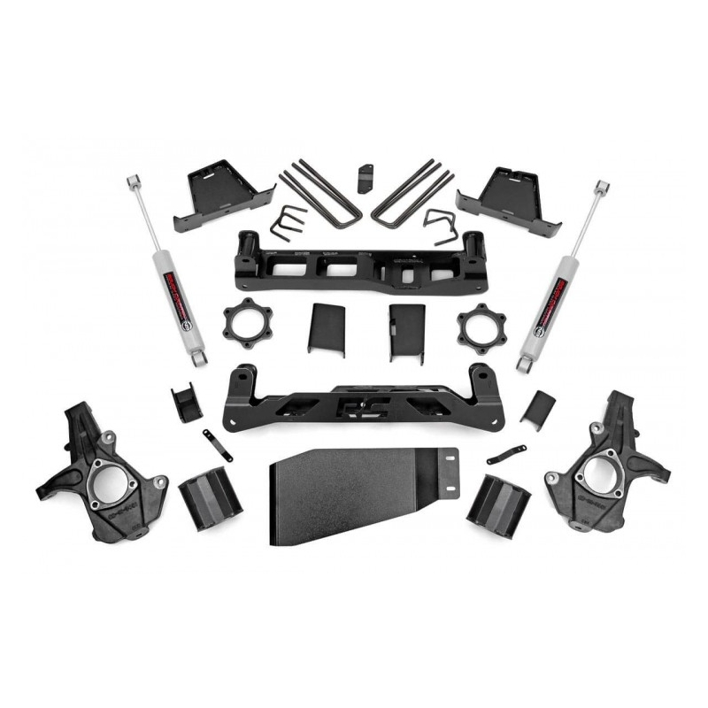 Rough Country Chevrolet Silverado 2006-2013 4x4 6Pulg Kit Suspension