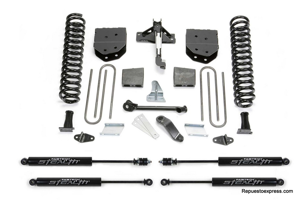 Fabtech Ford F250 Suspension con Espirales