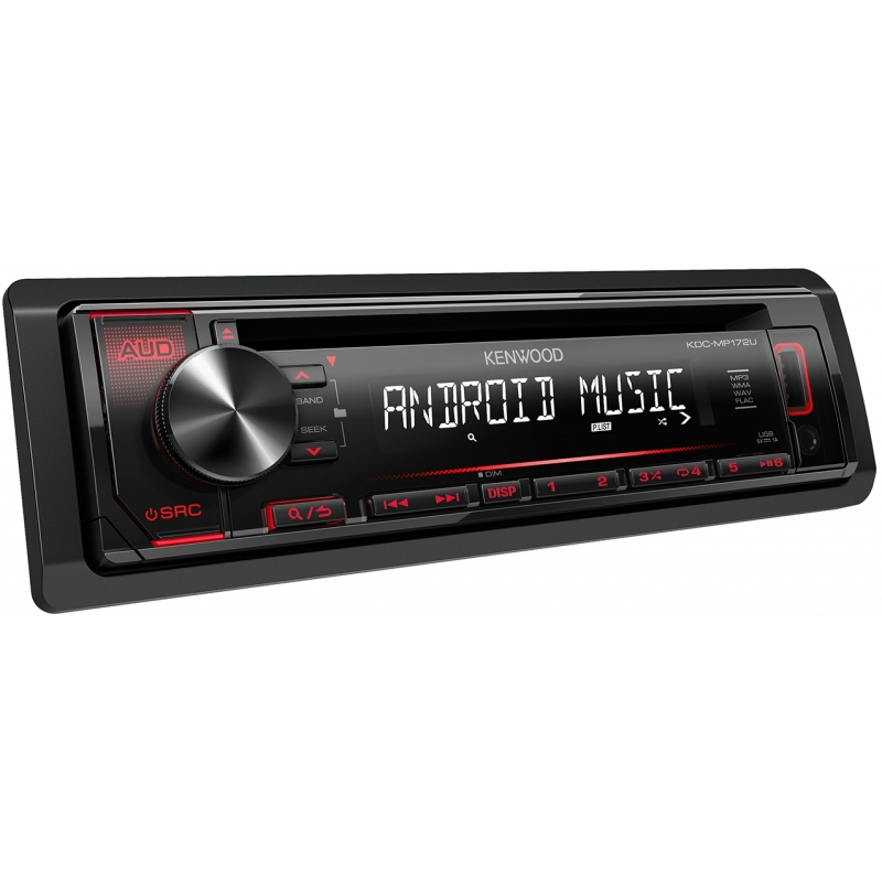 Kenwood Reproductor KDC-MP172UK CD con Control Remoto y USB