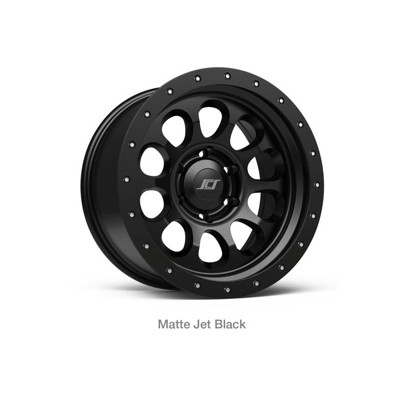 SCS Ray 10 JetBlack 17x8.5 6H 139,7 (JUEGO)