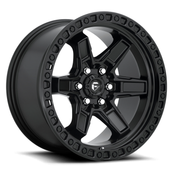 Fuel Wheels Kicker6 Black 17x9 6Huecos (SET)