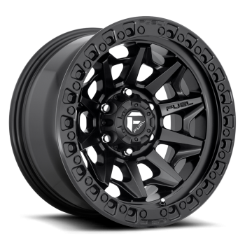 Fuel Wheels Convert Black 17x9 6Huecos (SET)