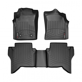 WeatherTech Toyota Hilux 2012/2020 Alfombras (Negro)